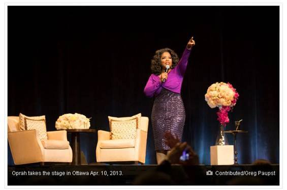 Flowers Talk - Oprah Event
