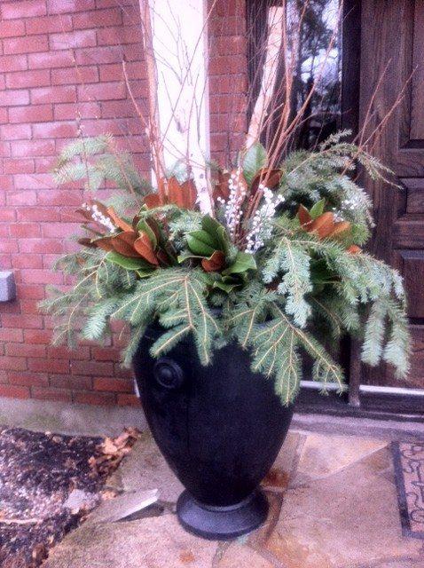 Flowers Talk Outdoor Urn 2