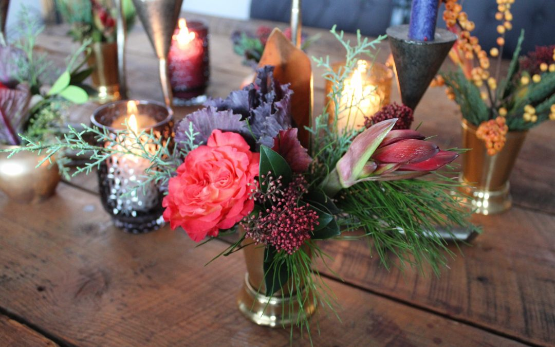 How to Design Your Holiday Centrepieces
