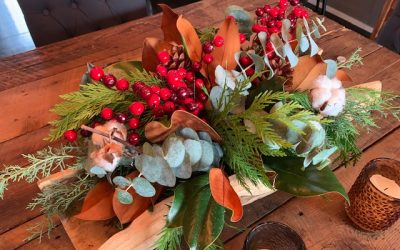 Create Your Own Long-Lasting Winter Centrepiece