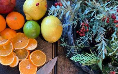 How To Dry Fruit For Your Wreaths