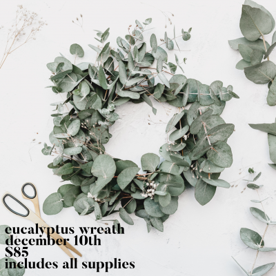 Eucalyptus Wreath Dec 10 Squaree