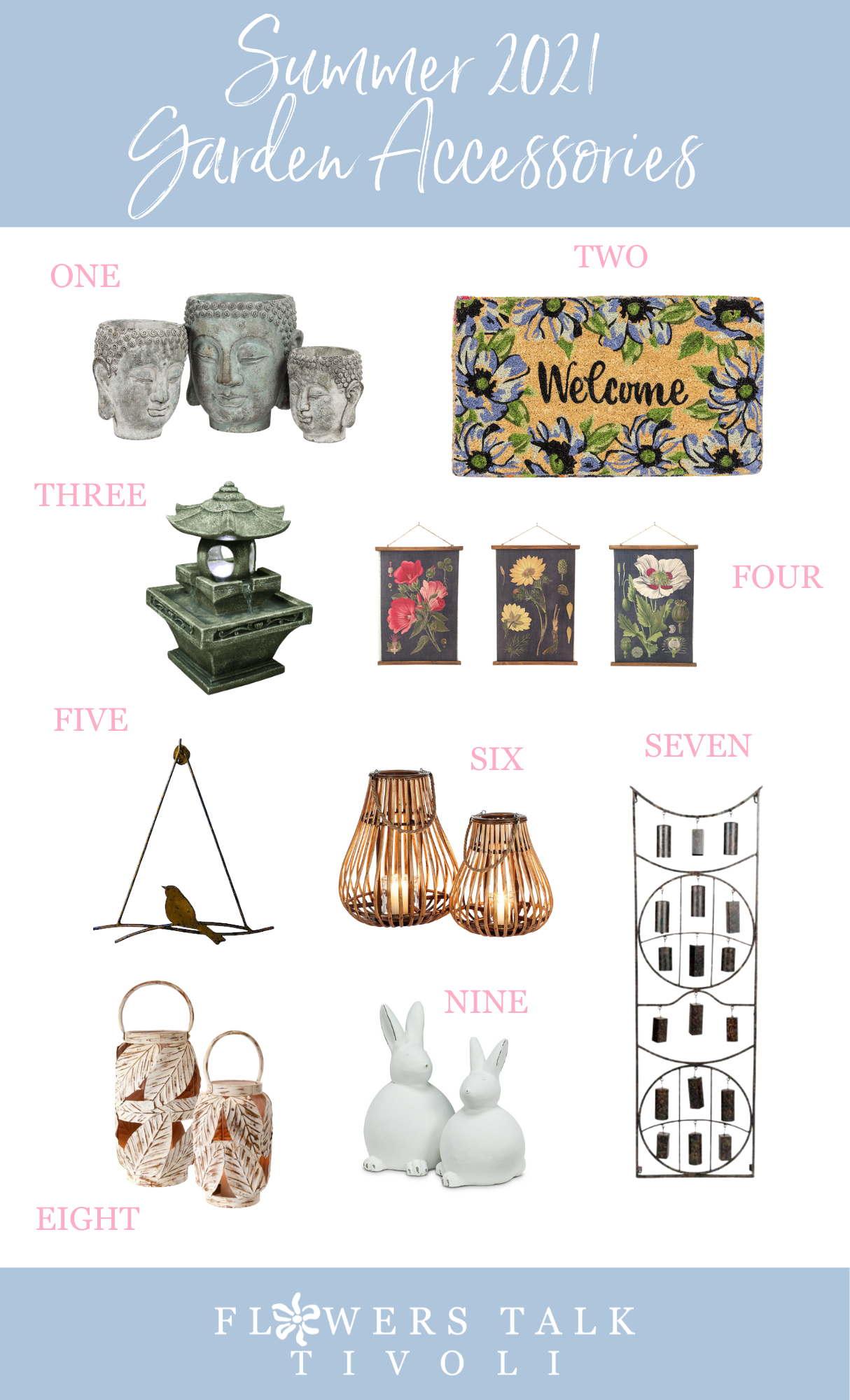 Our Top Garden Accessories for Summer 2021